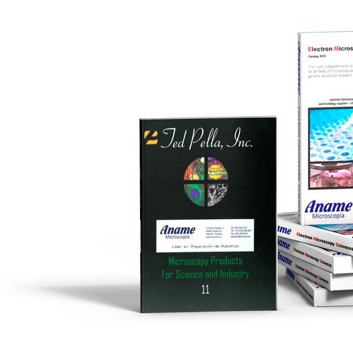 Consumibles y accesorios para la preparación de muestras y trabajo con microscopios electronicos de transmision y barrido