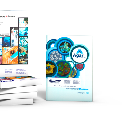 Consumibles para microscopia electronica TEM SEM