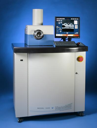 Generacion de adelgazadores ionicos de haz estrecho con capacidad de tratar zonas de la muestra de microscopia electronica de transmisión