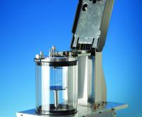 Turbometalizador diseñado para trabajar en camara de guantes libre de agentes contaminantes