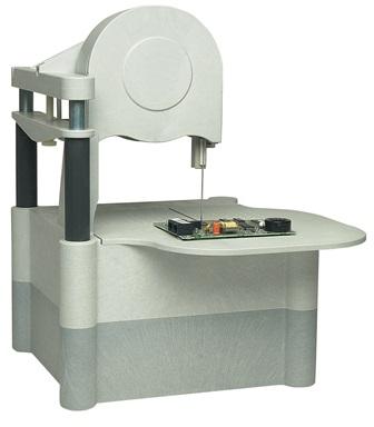 La cinta de diamante es una herramienta fantastica para potenciar la versatilidad de las cortadoras de muestras para microscopia electronica